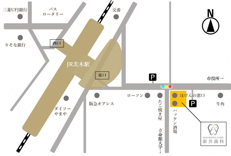 駅前マップ