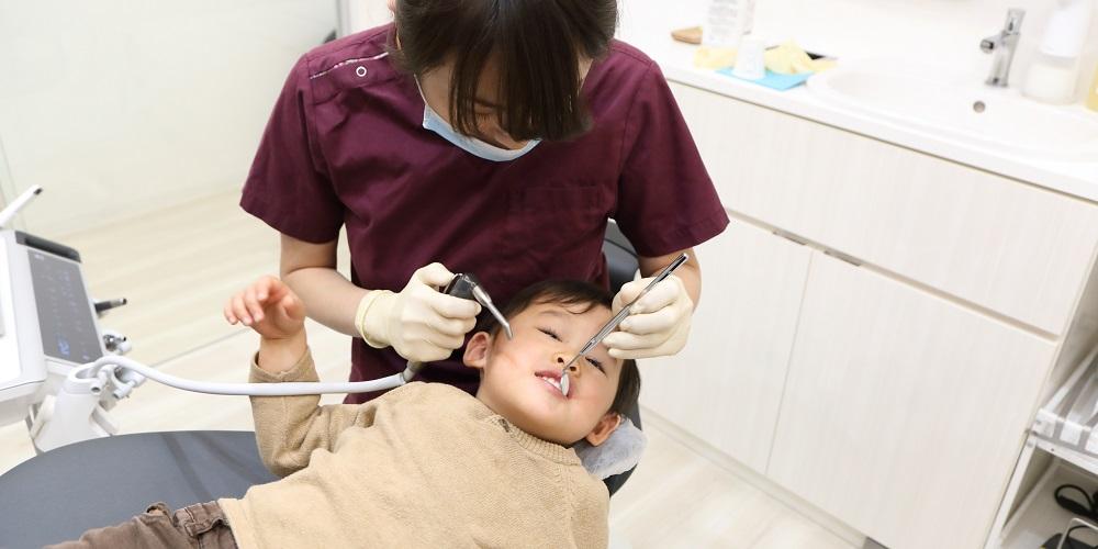 初めて歯医者さんに来て、よくあるケース