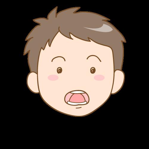 ④舌を押し出す(舌突出癖)