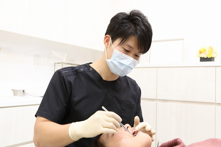 虫歯の大きさの診査、診断