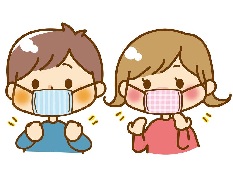 マスク着用による口呼吸の誘発