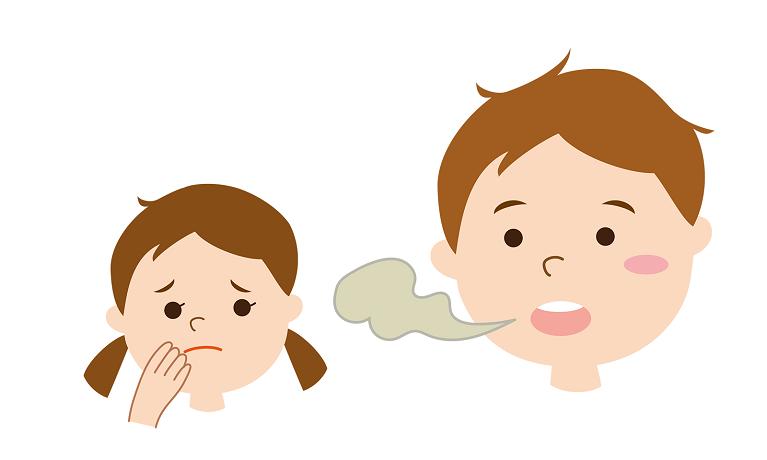 子供の口臭がドブ臭かったり、うんち臭いと思ったことありませんか?